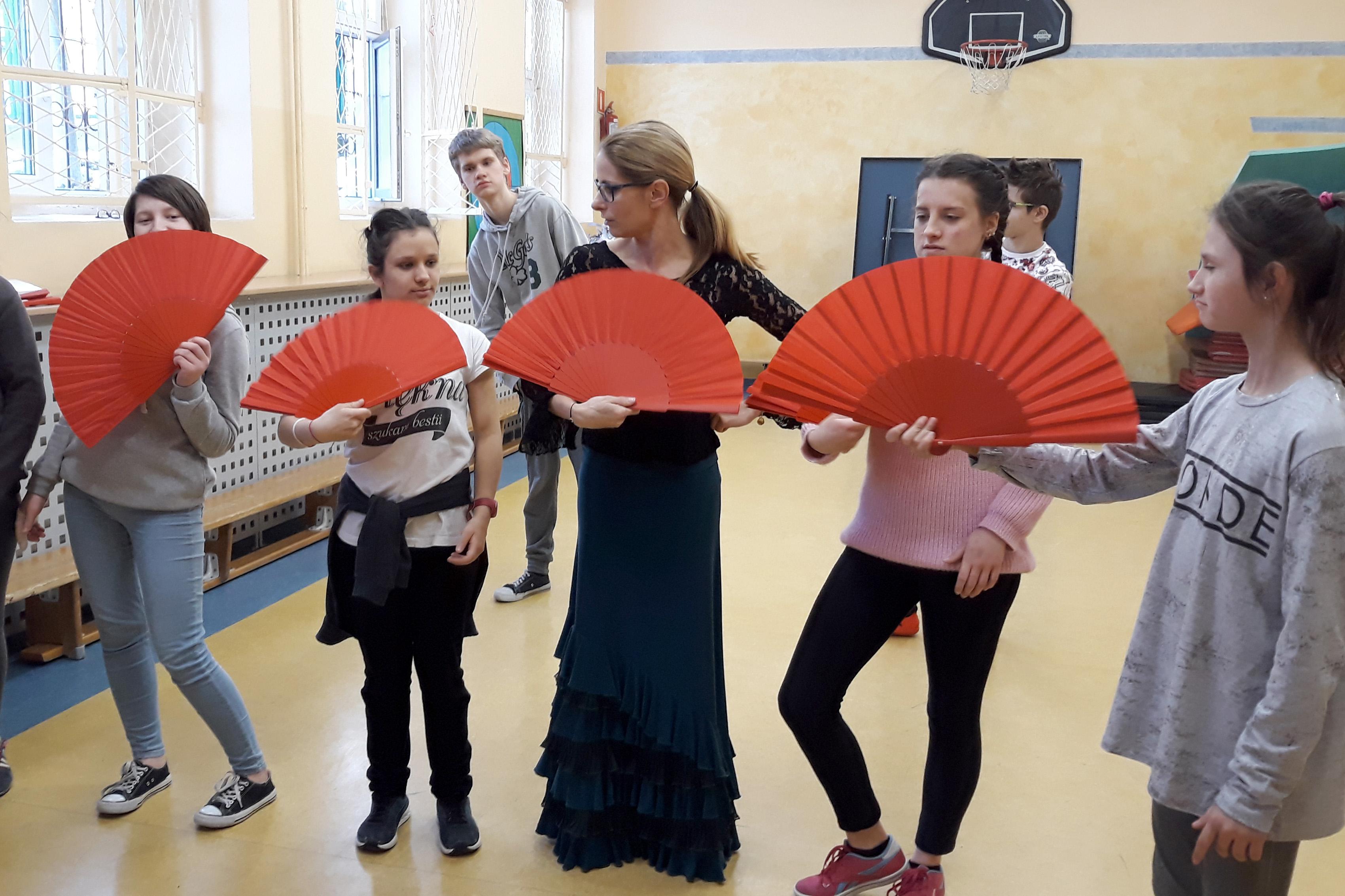 """Projekt edukacyjny """"Ze Śląskiem do Hiszpanii"""""""