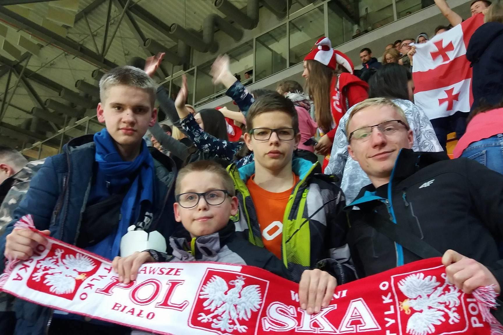 Mecz w futsalu  Polska – Gruzja