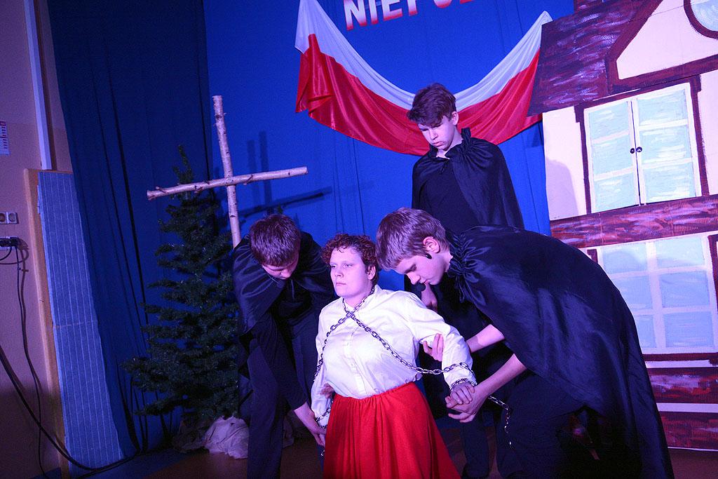 """Spektakl """"Dla Niepodległej"""" inaugurujący obchody 100. rocznicy odzyskania przez Polskę Niepodległości"""