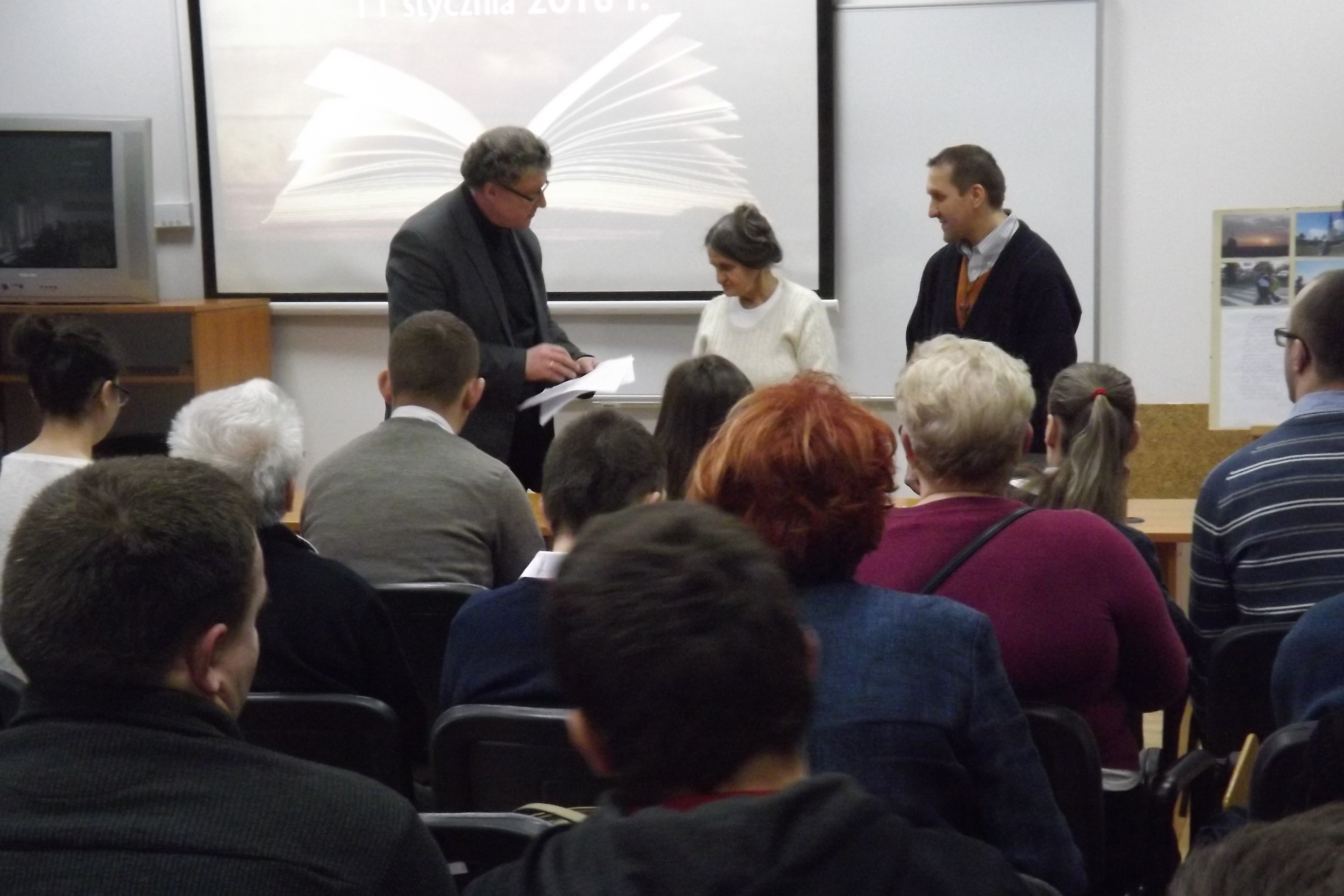 Spotkanie czytelniczo–autorskie w Bibliotece Pedagogicznej RODN WOM
