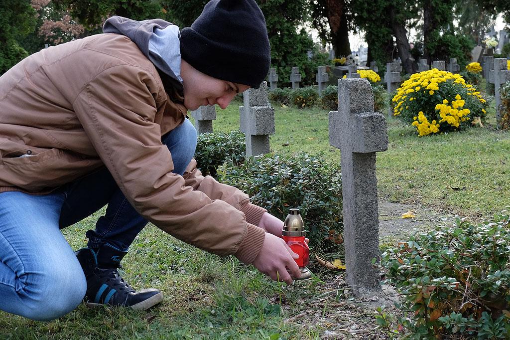 Wizyta na Cmentarzu Kule