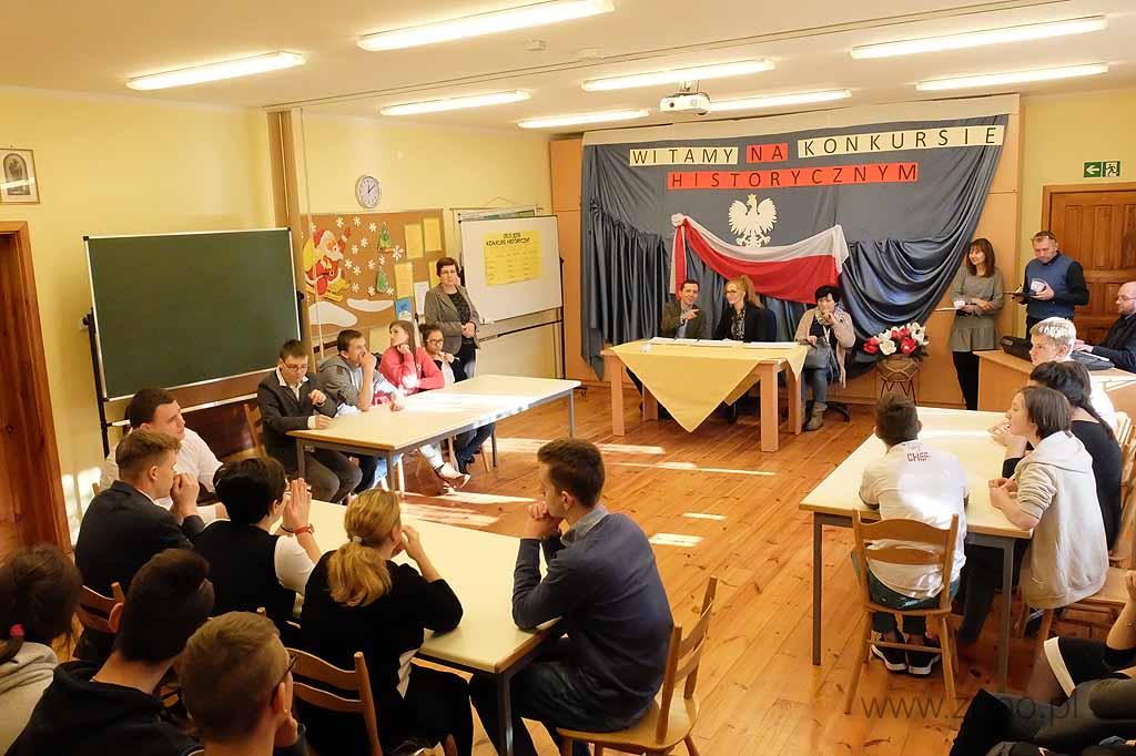 "Konkurs Historyczny pt.: ""Historia Polski a patriotyzm""."