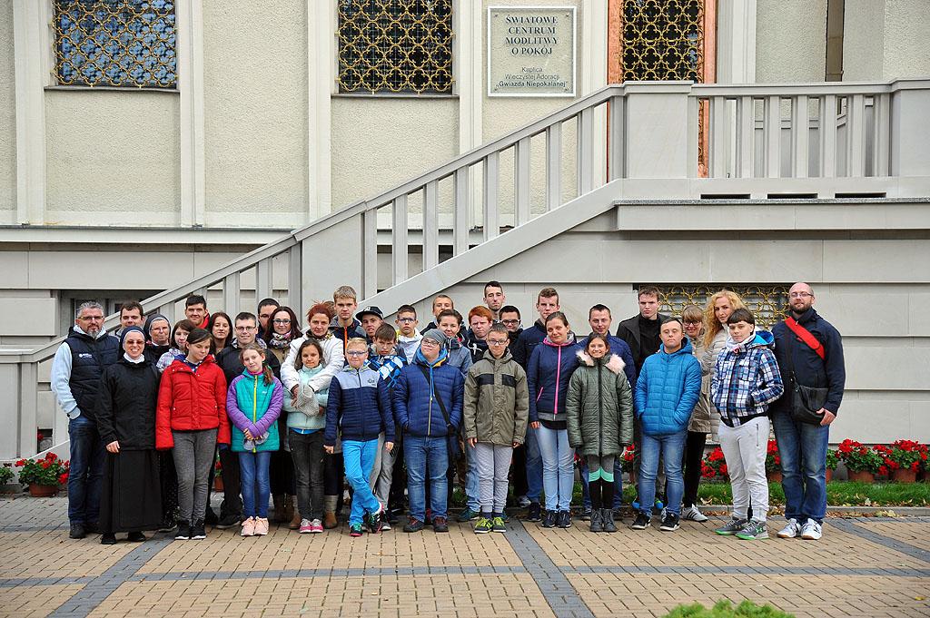 Wycieczka szkolna do Niepokalanowa i Łodzi
