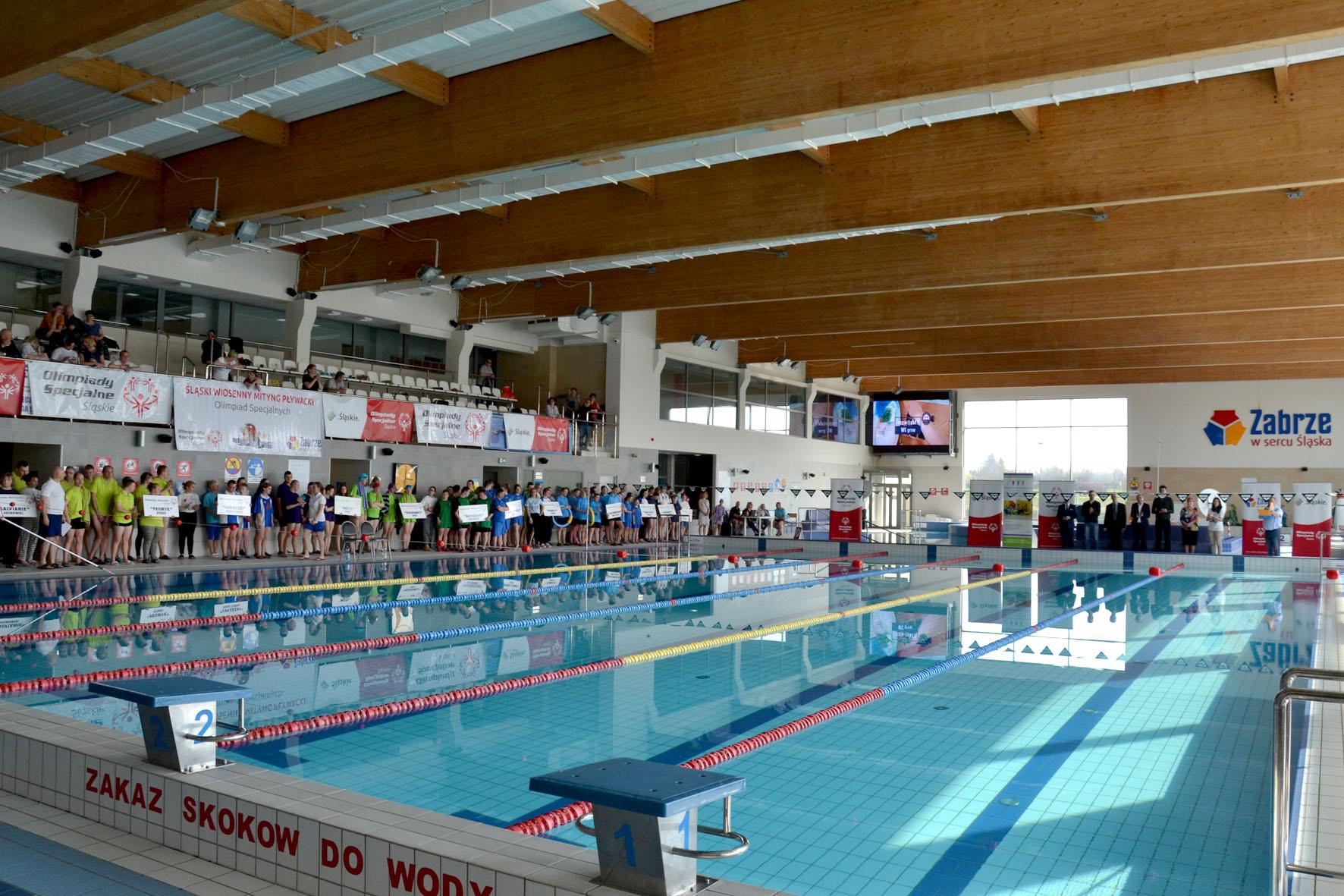 XI Wiosenny Śląski Miting Pływacki Olimpiad Specjalnych